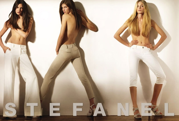 Stefanel Spring / Summer 2010 Ad Campaign with Daria Werbowy