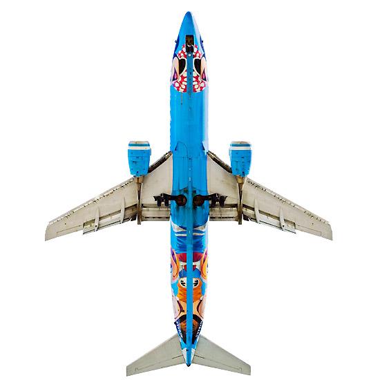 Boeing 737-400 Alaska Airlines (USA) Disneyland