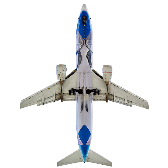 Boeing 737-400 Alaska Airlines (USA) Salmon