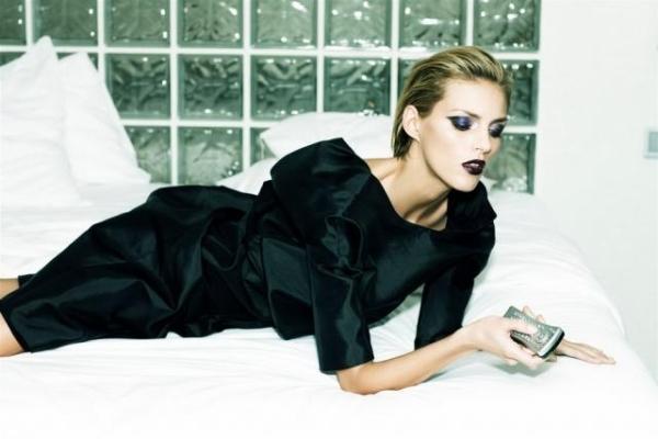 Anja Rubik: photographed by Ellen von Unwerth