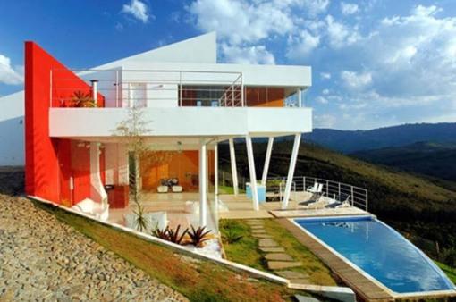 modern mountain house design brazil