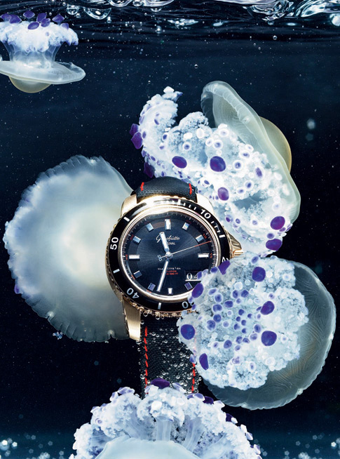Jaeger-LeCoultre's Master Compressor Diving Pro Geographic