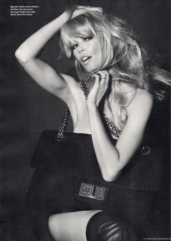 Claudia Schiffer, Helena Christensen and Eva Herzigova: i-D, Winter 2010 (NSFW)