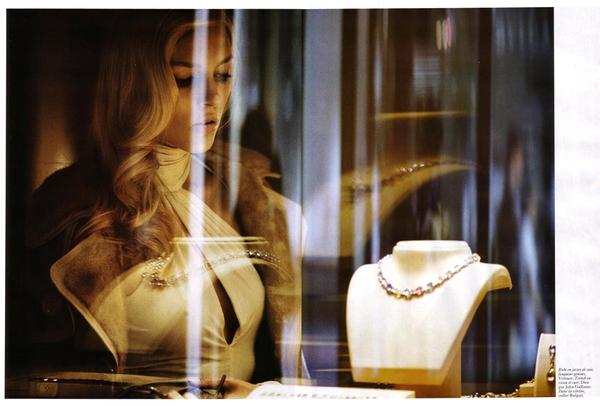Anja Rubik in Vogue Paris 2005 (NSFW)