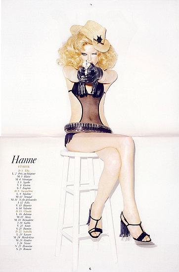 February: Hanne Gaby Odiele