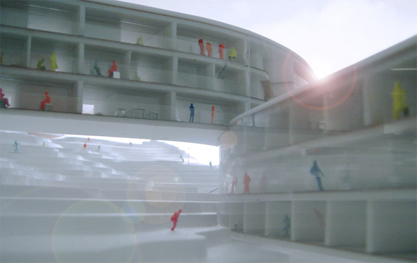 .Supposedly hotel according to project BIG will be built on the slope of mountain Hafjell, Norway