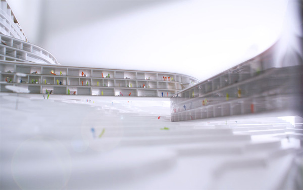 BIG newest projects is this awesome hotel and  apartment complex designed specifically for skiiers