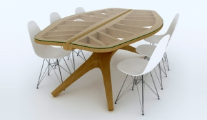 Table in the form of sheet from the Netherlands