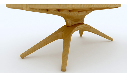 Table in the form of sheet John lonsdeyl John  Lonsdale