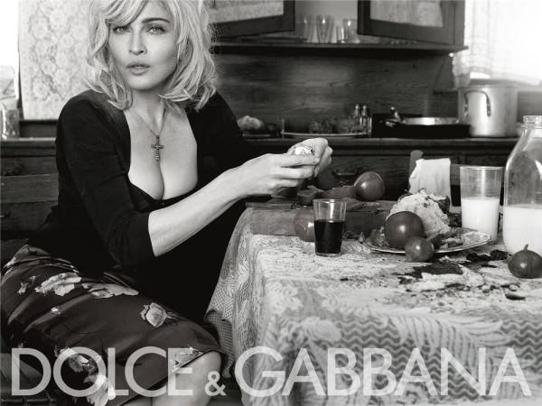Madonna for Dolce & Gabbana Spring / Summer 2010 Ad Campaign