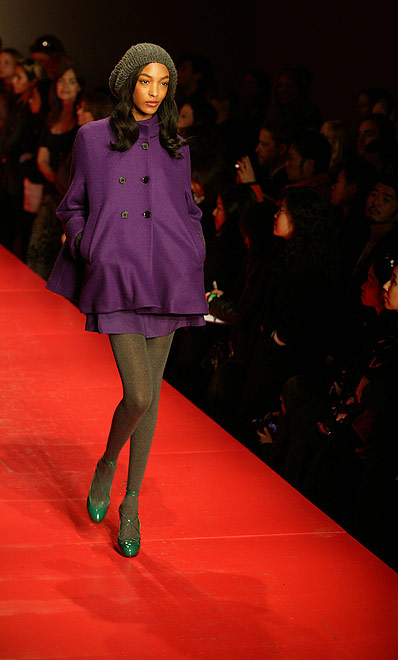 dkny by donna karana fall 2008 fashion show