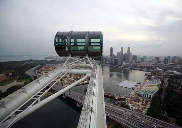 В Сингапуре появилось самое большое в мире колесо обозрения