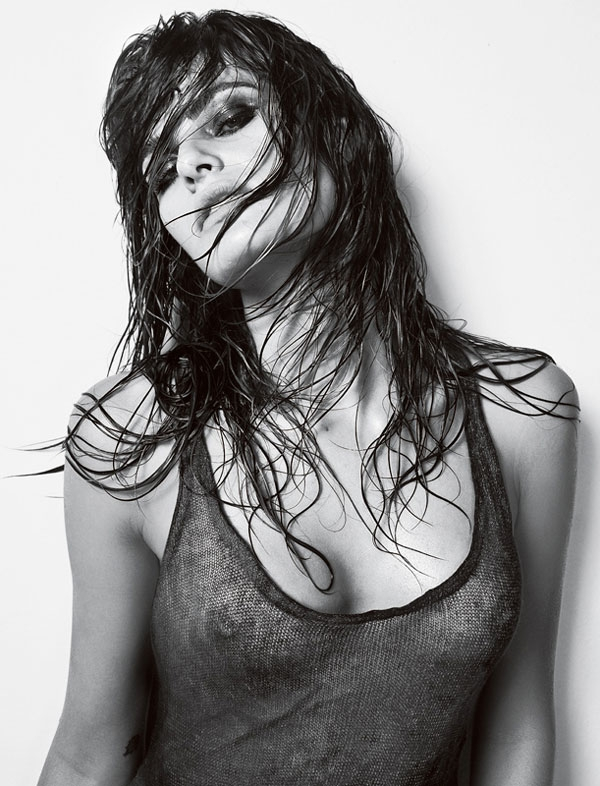 Isabeli Fontana in Vogue Homme Brazil December 2009