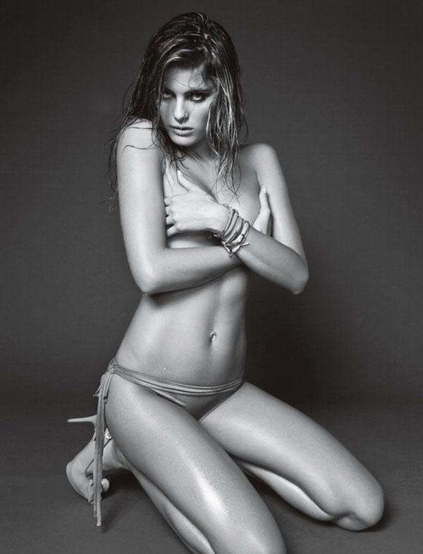 Isabeli Fontana in Vogue Homme Brazil December 2009